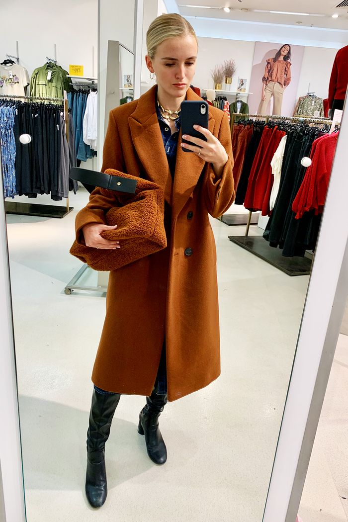 Marks and Spencer under 30: Joy in M&S coat