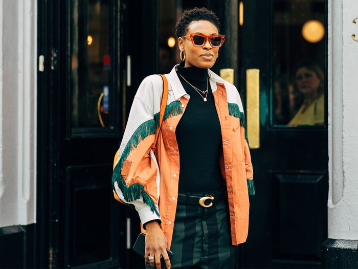 Donna Wallace Street Style