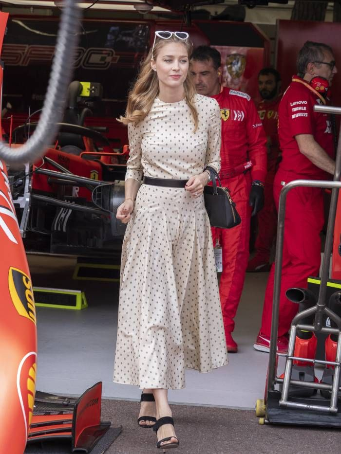 royal summer outfits: beatrice casiraghi
