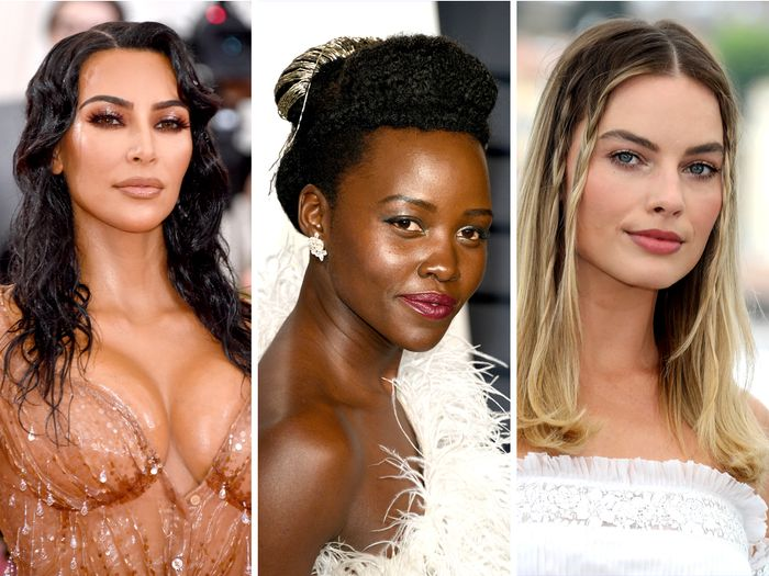 Kim Kardashian, Lupita Nyong'o, and Margot Robbie