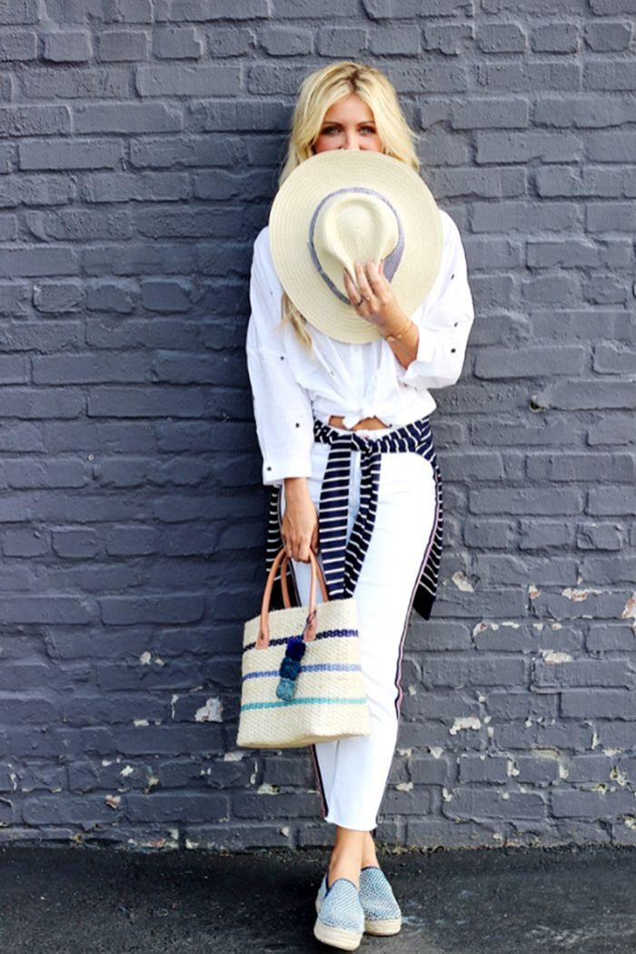 best straw hats and totes
