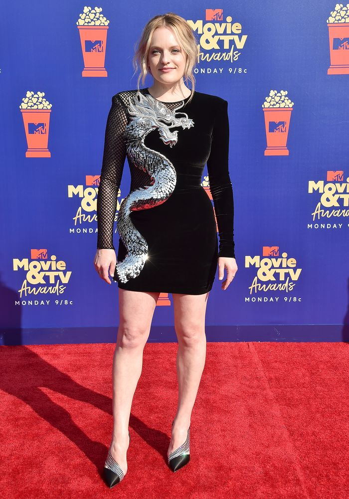 Elizabeth Moss at the MTV Movie and TV Awards