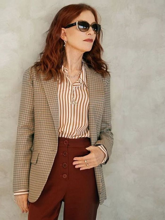 French Beauty Products Women Over 50: Isabelle Huppert