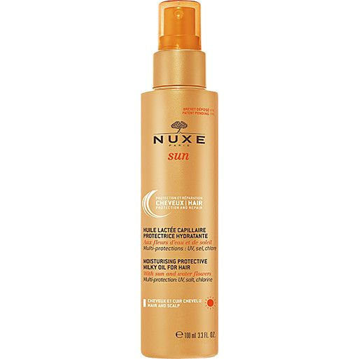 What Causes Hair Damage: Nuxe Sun Milky Oil for Hair
