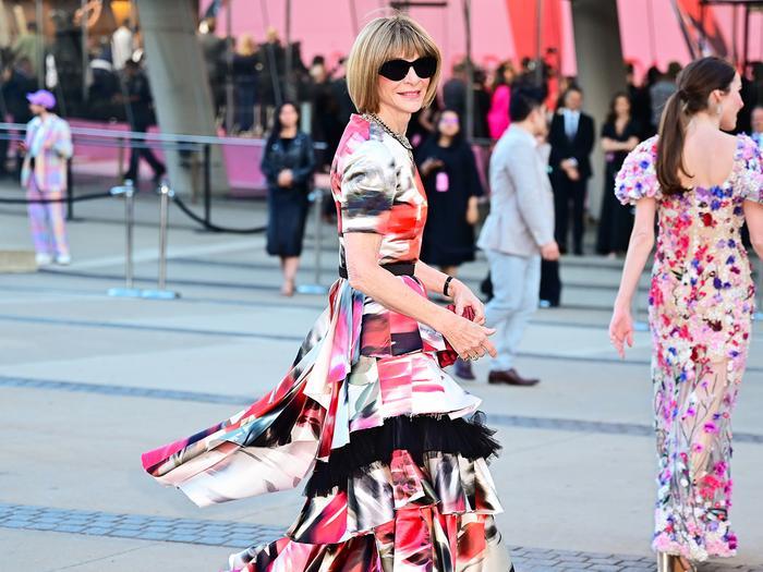Anna Wintour controversial shoe trend