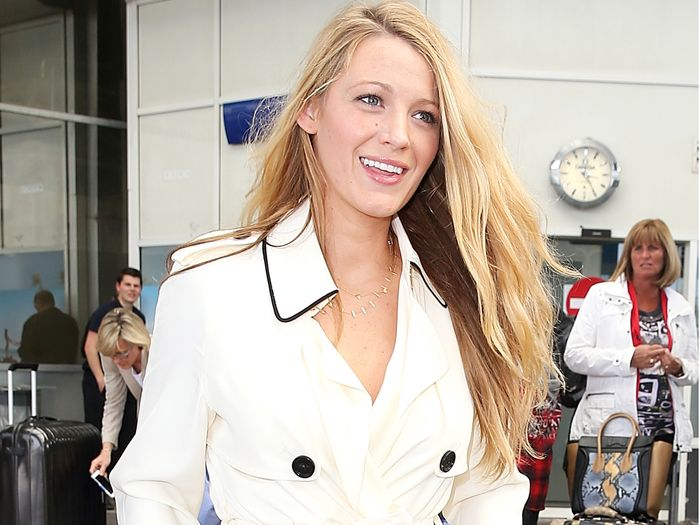 Blake Lively Airport Outfits