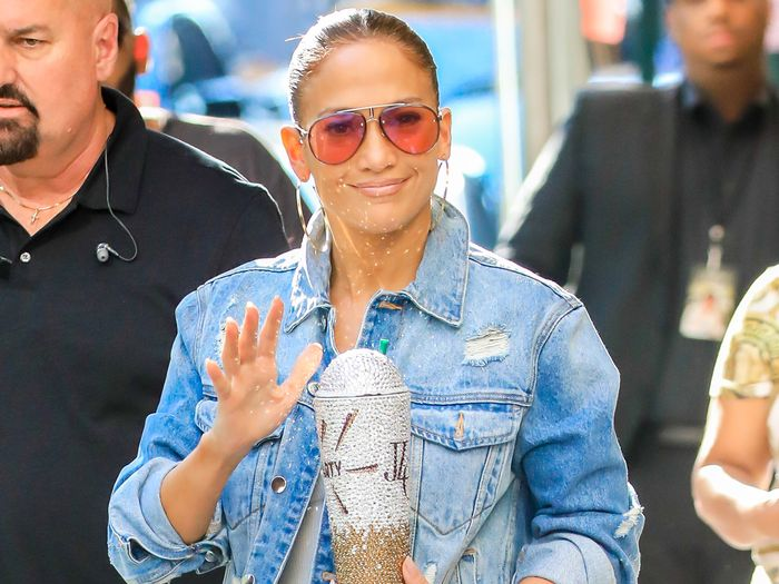9 Ways to Style Jean Jackets Like J.Lo, Meghan Markle, and More