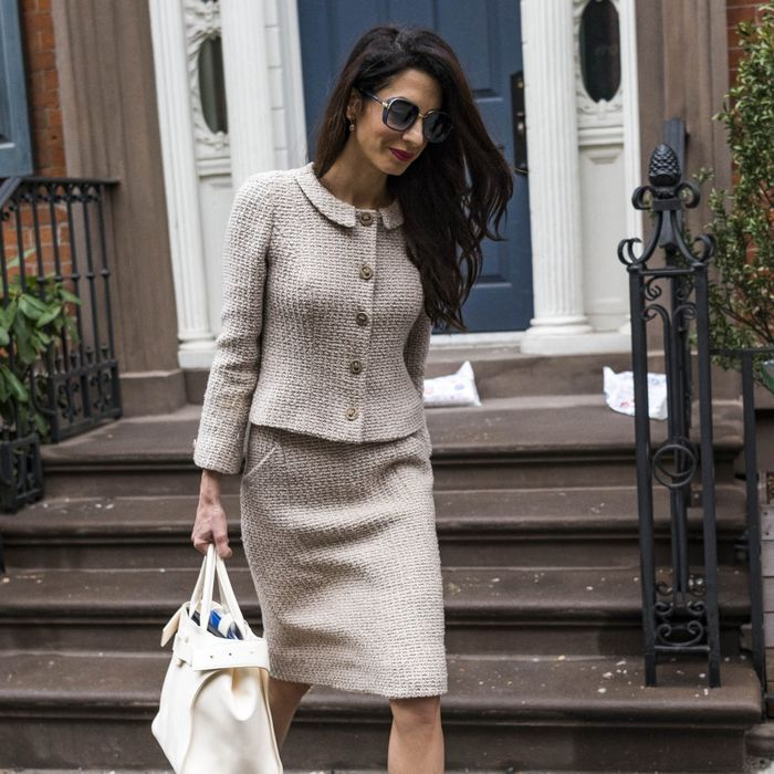 Amal Clooney affordable summer trends