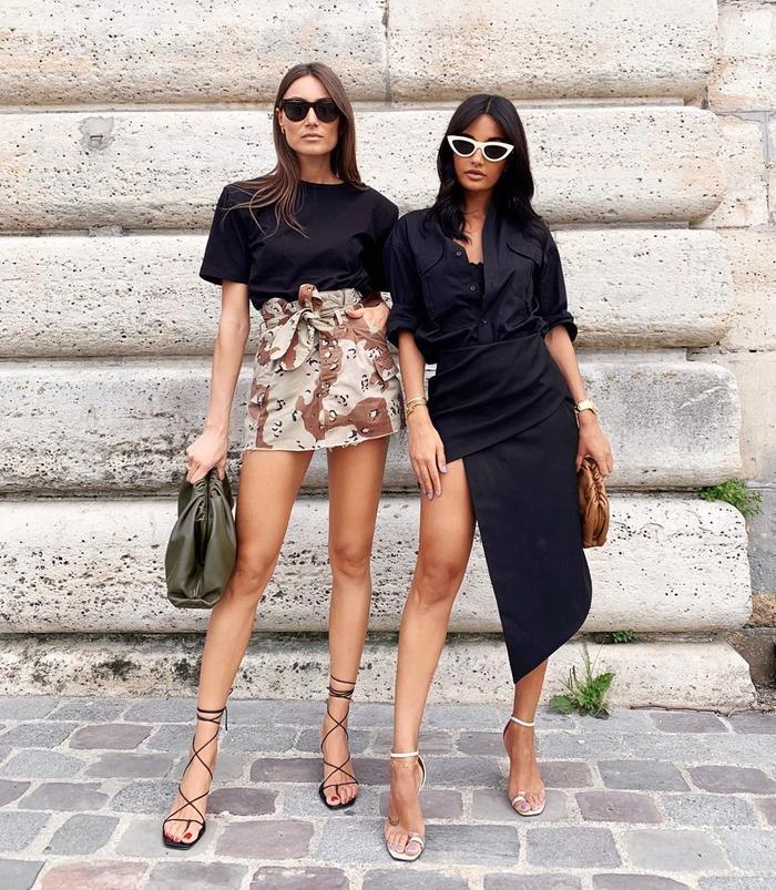 Italian Influncers Style: Giogia Tordini and Amina Muaddi