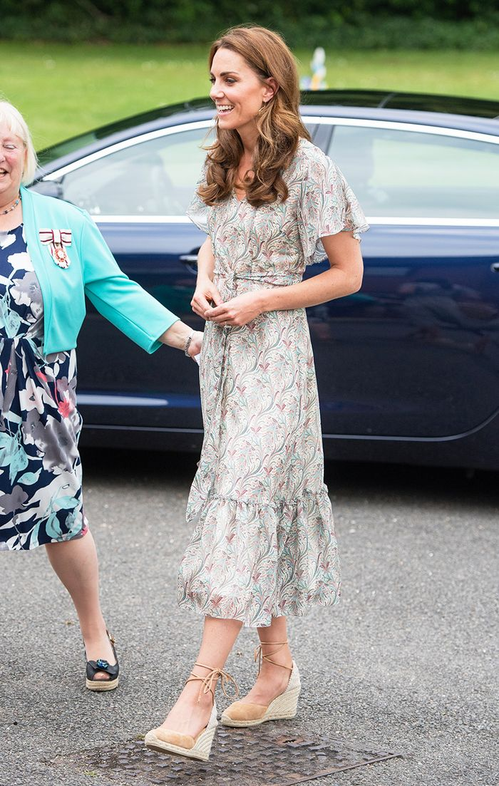 Kate Middleton wedge shoes