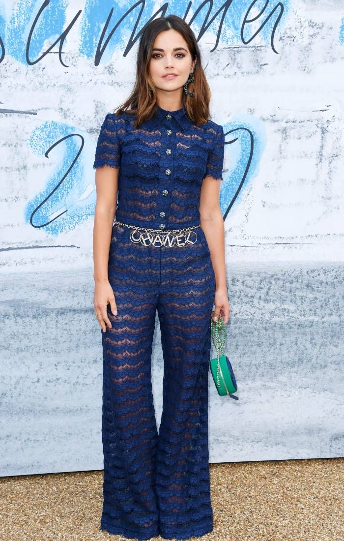 serpentine summer party 2019: jenna coleman