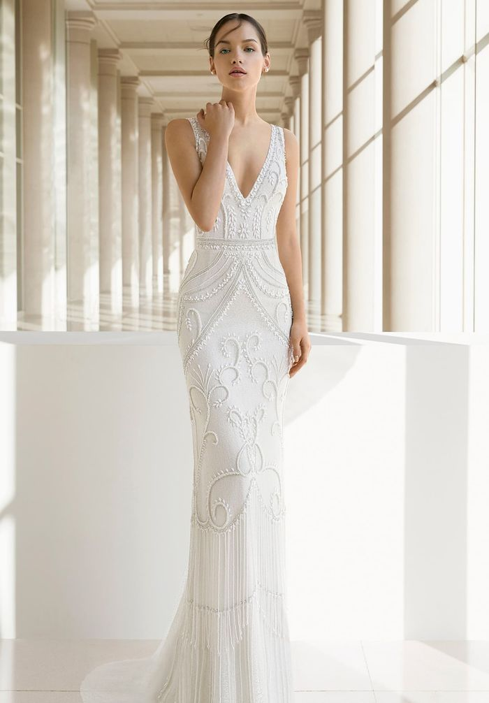 19 Wedding Dress Styles For Women With Big Busts Who What Wear