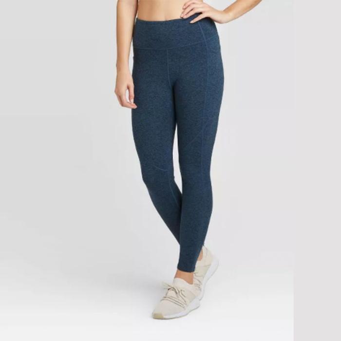 JoyLab High-Waisted Brushed Jersey Leggings