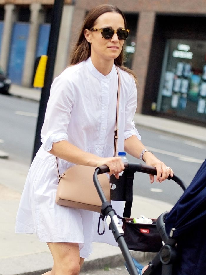 Pippa Middleton Wore the Sneakers Only