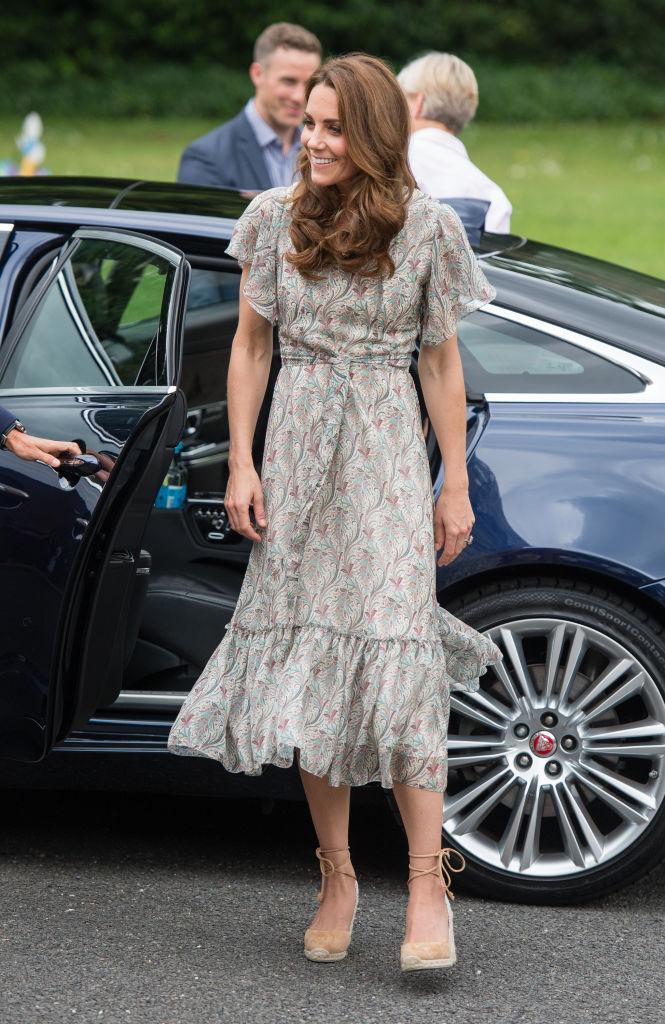 Kate Middleton espadrilles