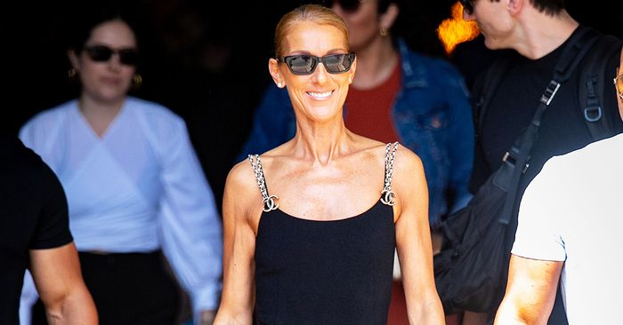 Celine Dion Just Wore a Capri-Legging Chanel Outfit