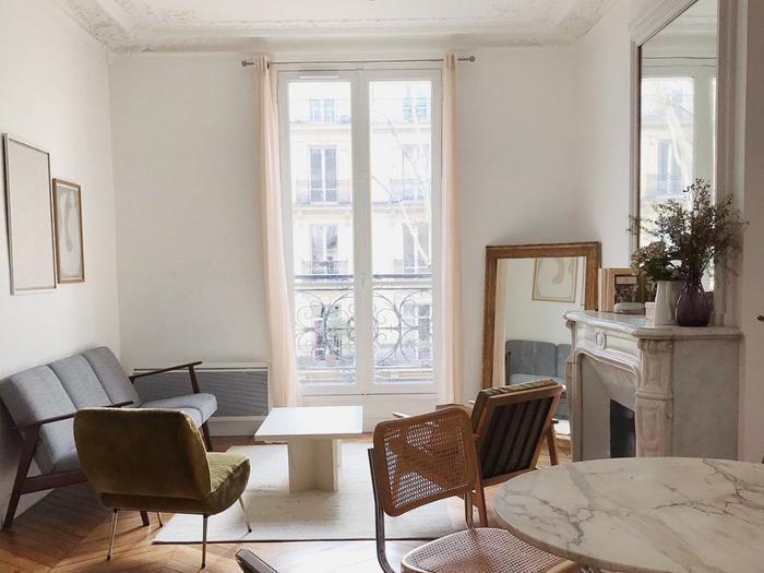Anne Laure Mais Paris apartment