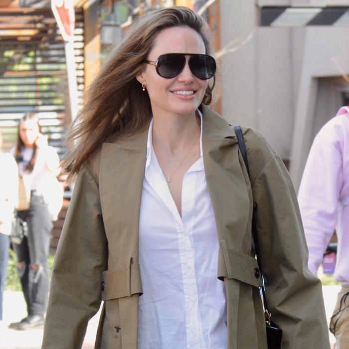Angelina Jolie wardrobe basics