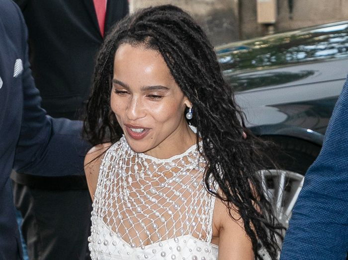 Zoë Kravitz Wedding Rehearsal Dinner Photos