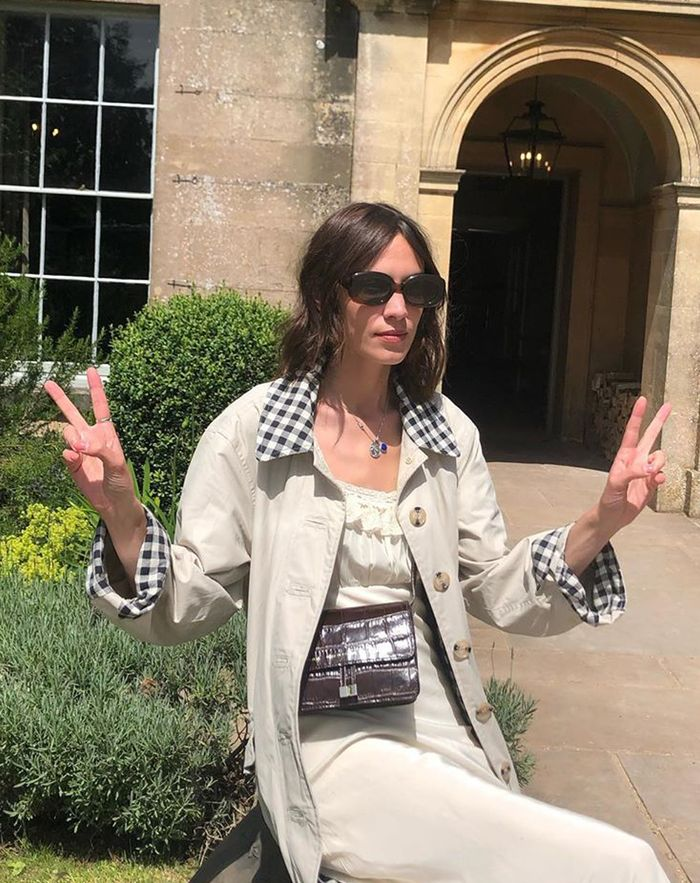 Glastonbury fashion 2019: Alexa Chung