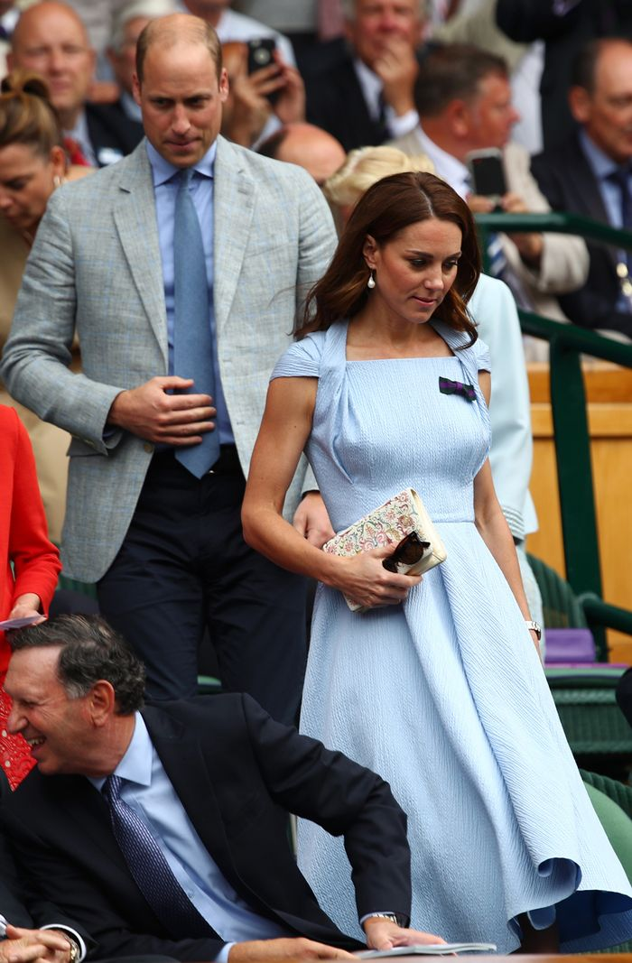 wimbledon celebrities 2019: Duchess of Cambridge