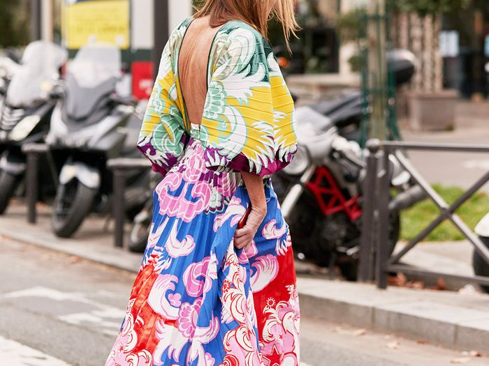 Printed Dress Street Style
