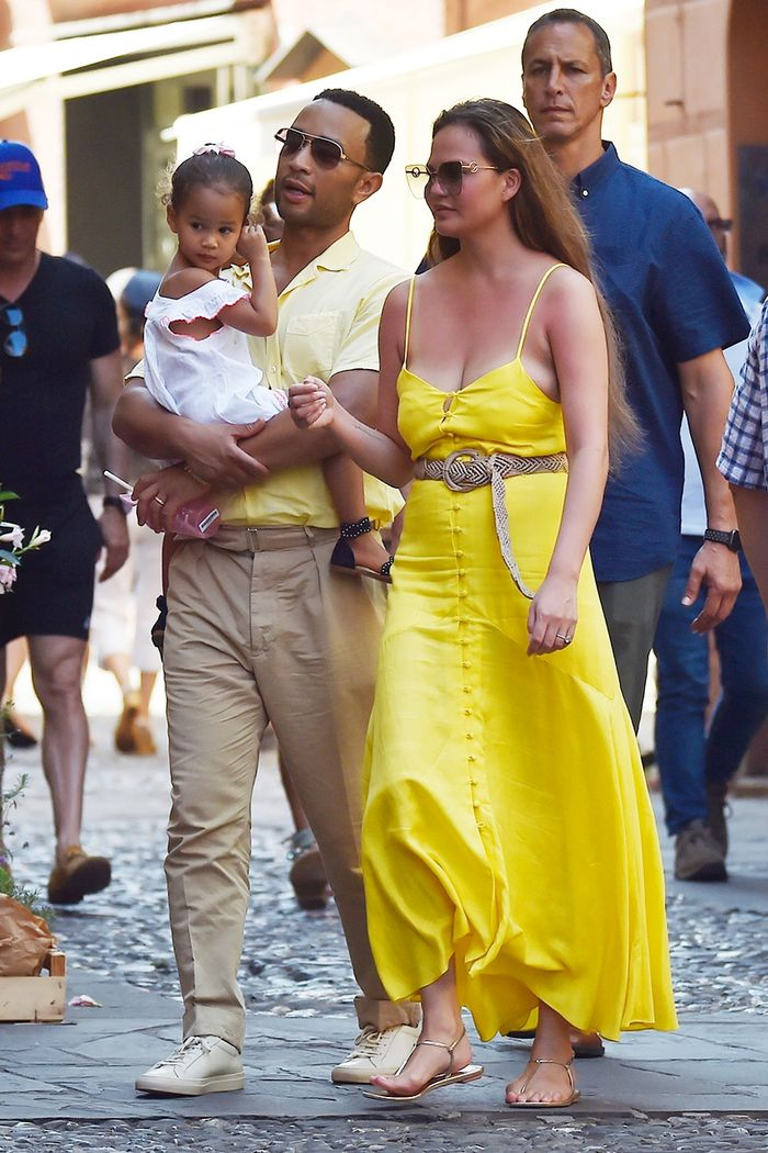 Chrissy Teigen and John Legend Italy vacation