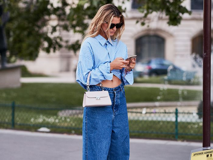 Denim Street Style Paris