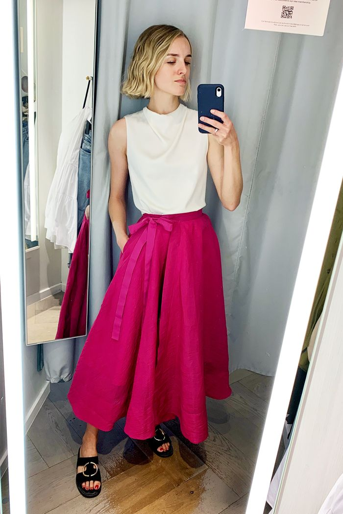 Capsule edit Topshop, H&M, & Other Stories: Joy Montgomery in H&M skirt