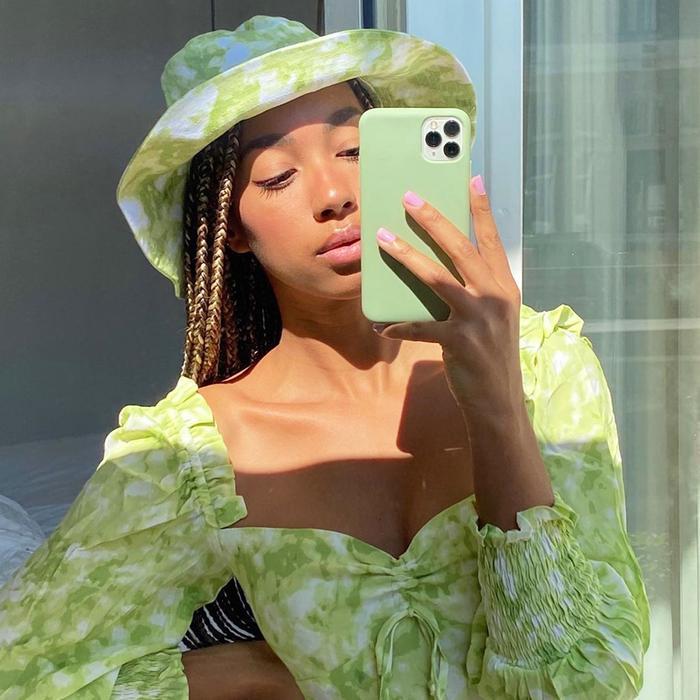 Faithfull the Brand Hat and Dress @amaka.hamelijnck
