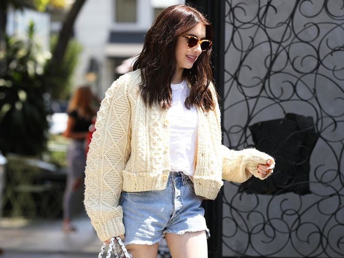 "Emma Roberts Wore the Shoe Style You're ""Not Supposed"" to Wear With Shorts"