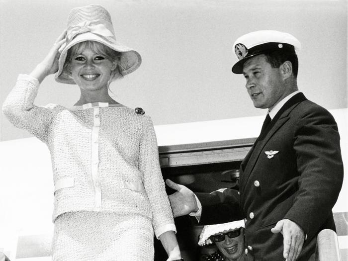 Brigitte Bardot's Best Airport Outfit