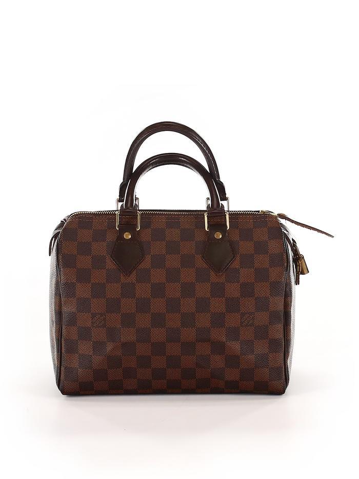 Louis Vuitton Damier Speedy 25 Satchel