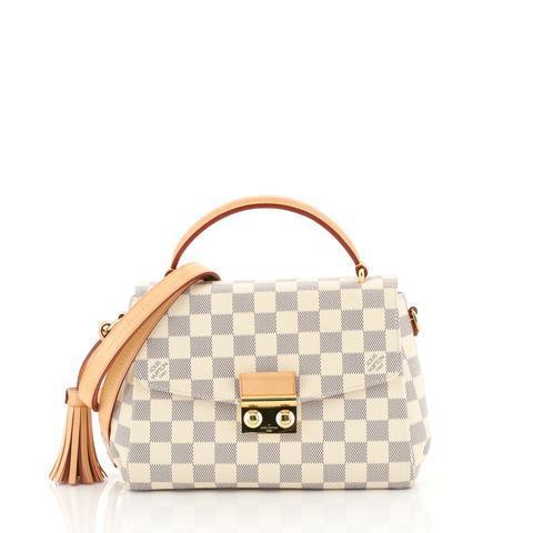 Louis Vuitton Croisette Handbag Damier