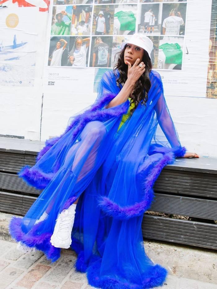 tall women summer trends: irene agbontaen