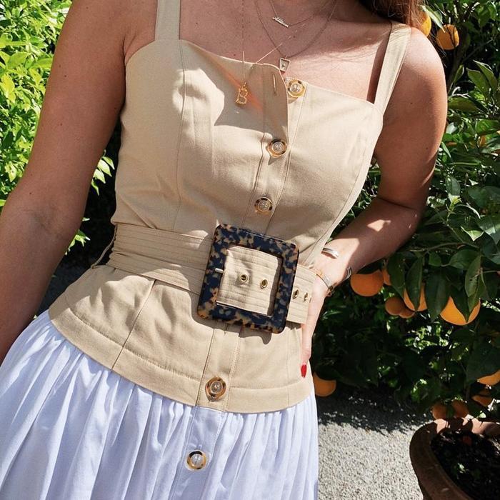 Staud Marina Dress Shopbop Instagram