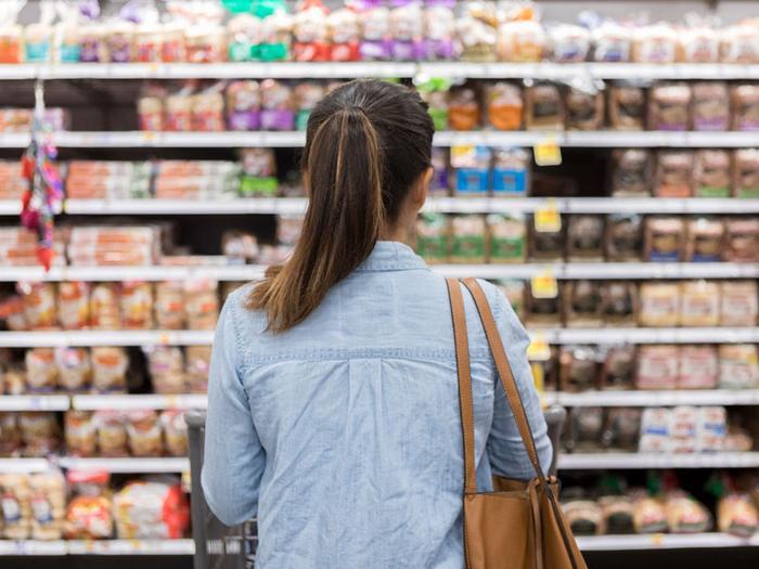 unhealthy healthy foods