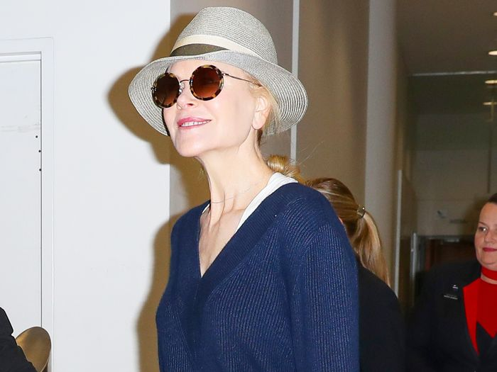 Nicole Kidman Wore the Perfect Airport Outfit