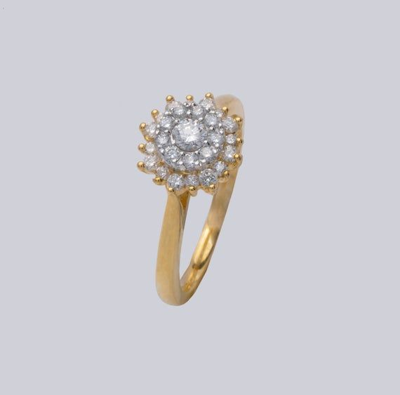 These Are The 17 Most Stunning Cluster Engagement Rings Who What Wear
