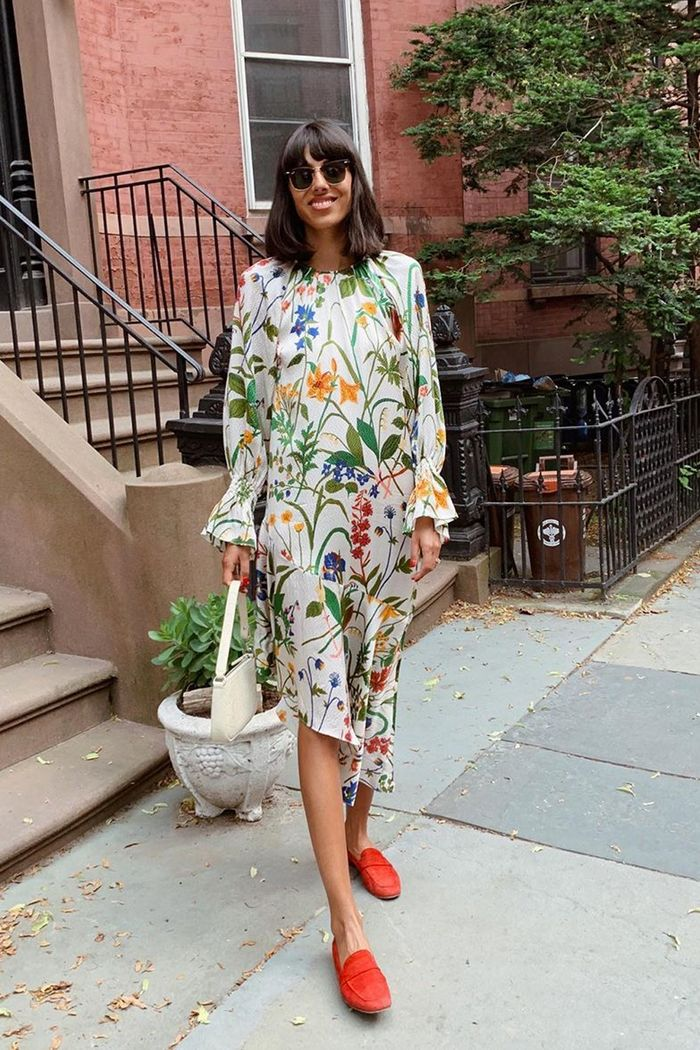 Best floral dresses for autumn: Babba Rivera