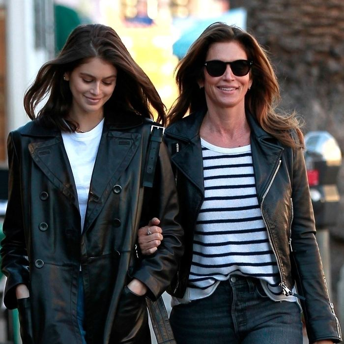 Trends Kaia Gerber and Cindy Crawford both wear
