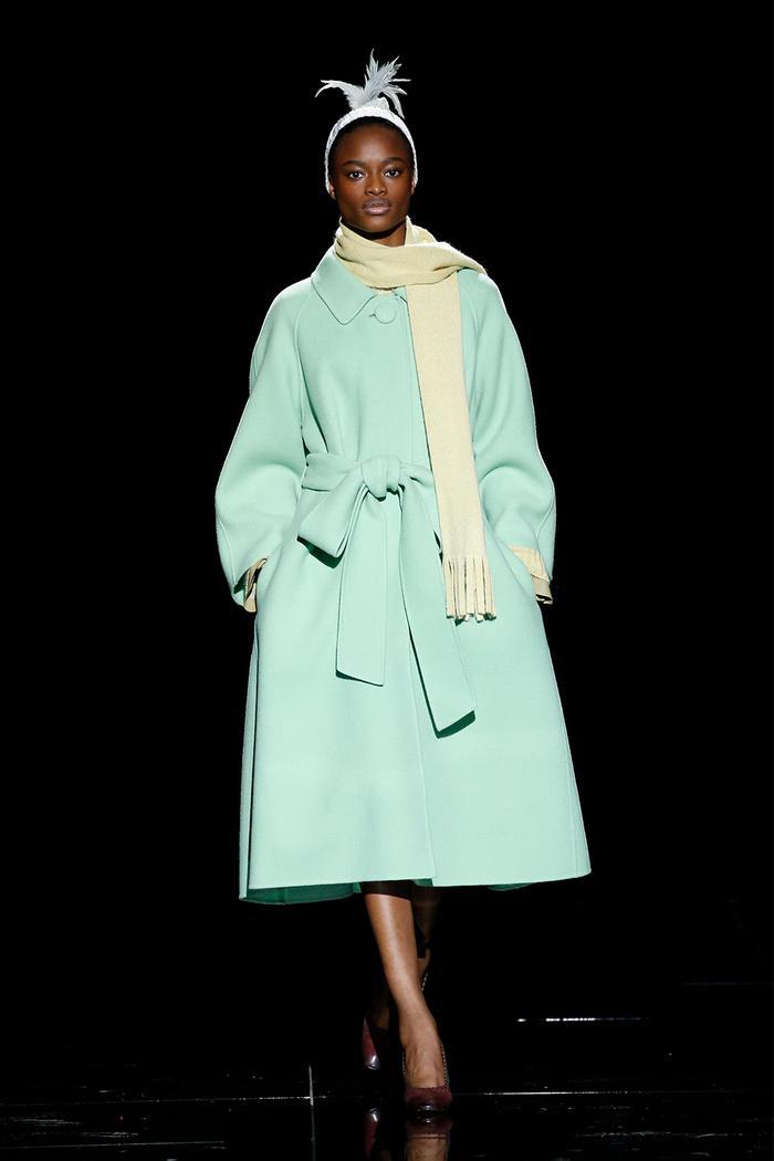 Marc Jacobs Mint Green Coat