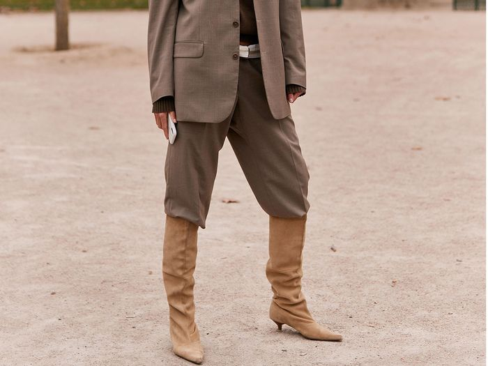 Tan boot outfits