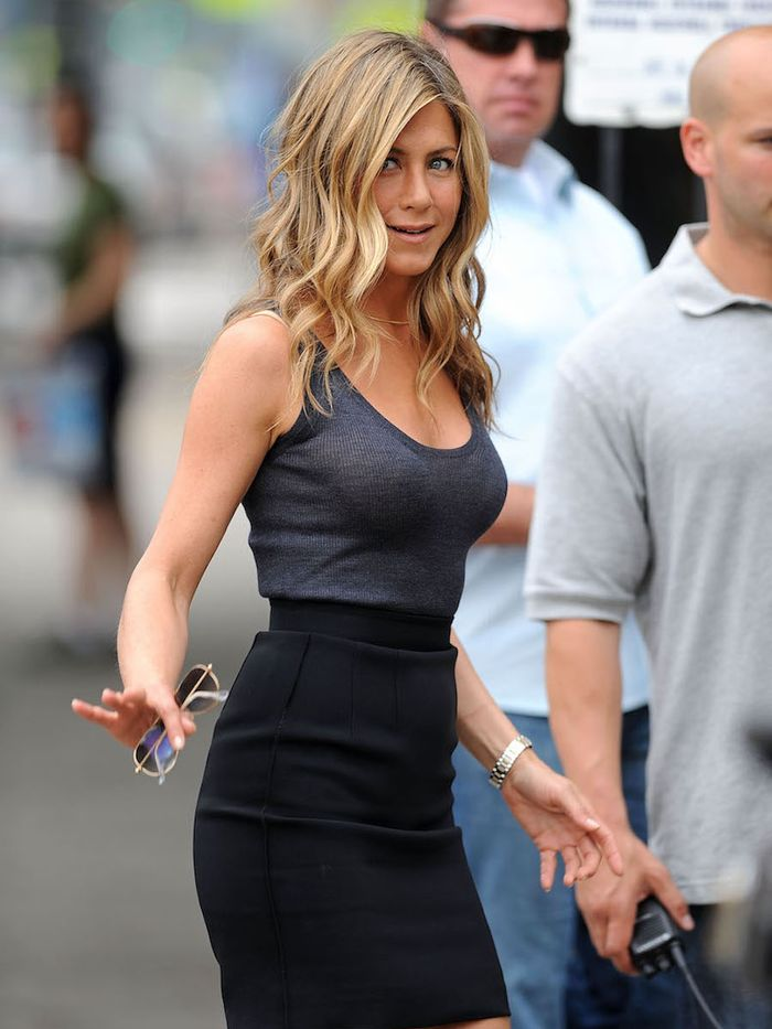All Of Jennifer Aniston S Best Hairstyles In One Place Who What Wear