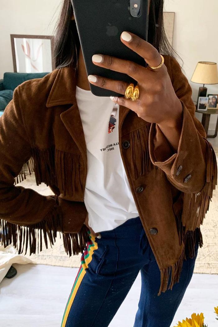 Best suede jackets: Monikh