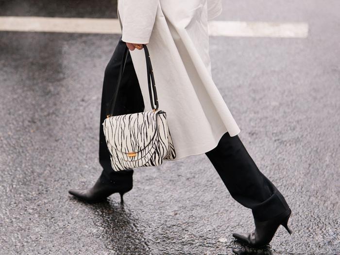 Zebra Print Bag Street Style