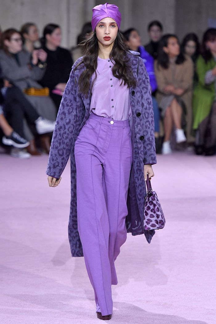 Purple is one of the biggest fall color trends