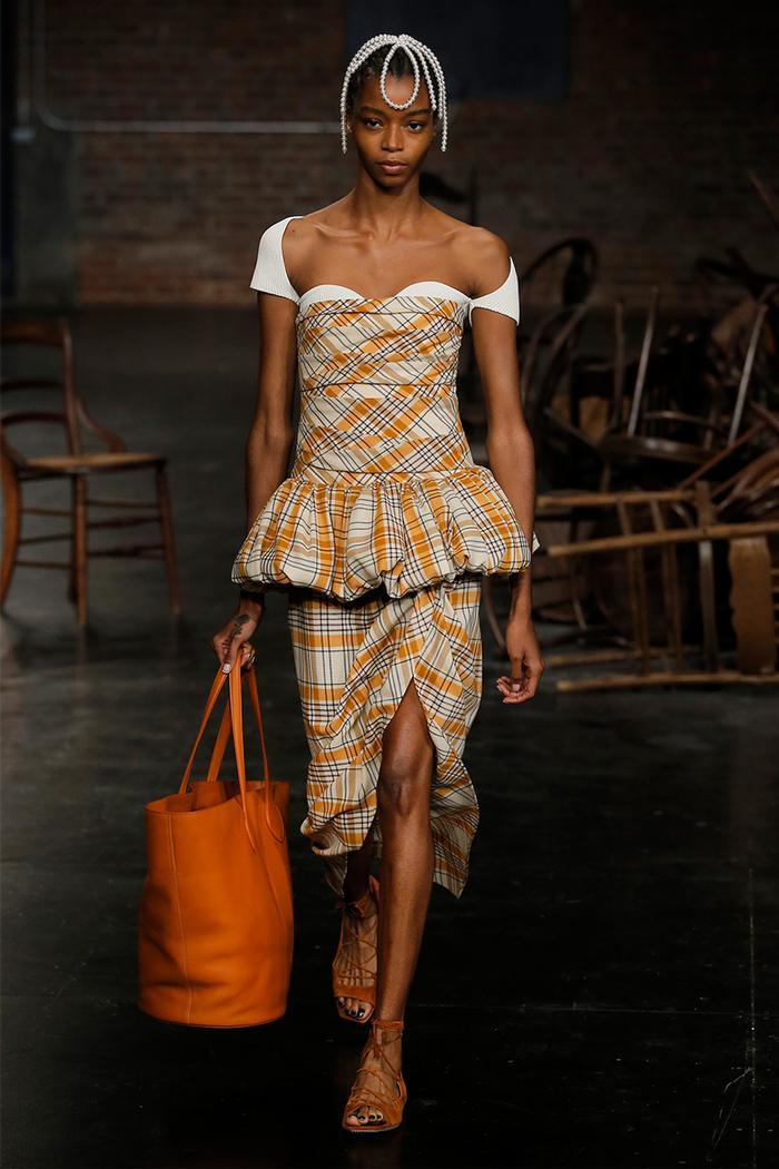 New York fashion week runway: Khaite