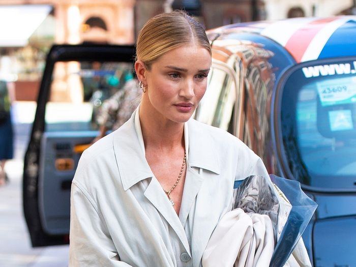 Rosie Huntington-Whiteley Bottega Veneta Pouch bag