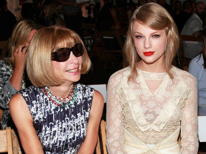 Anna Wintour and Taylor Swift